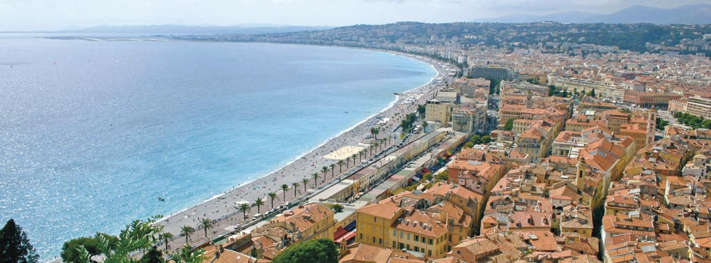 Cannes coastline