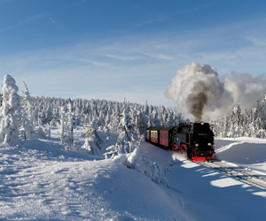 Harz in winter