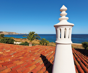 Algarve roof view