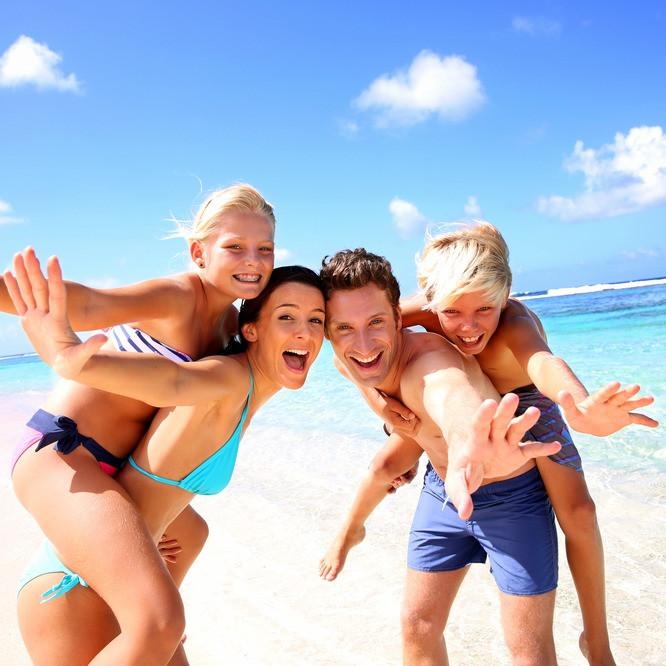 Ferien mit Kindern